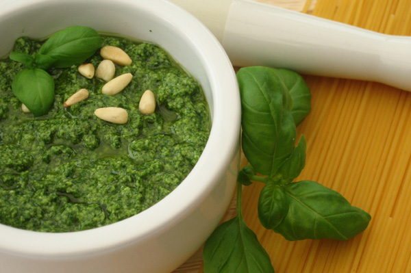 End your day with mouth-watering Pesto